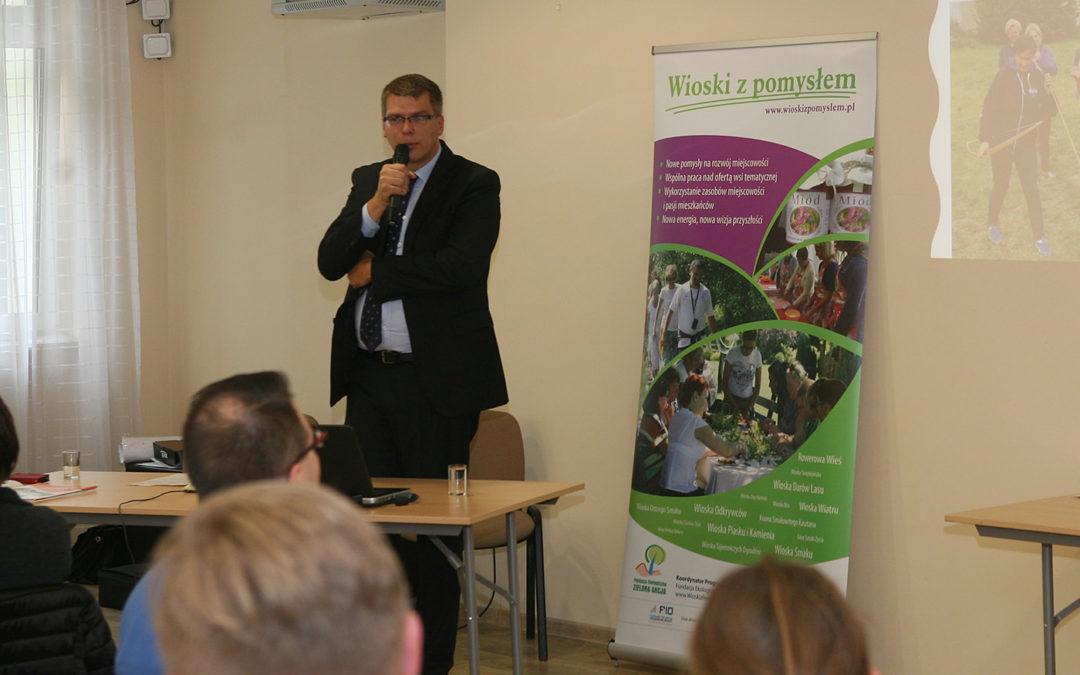 Relacja z konferencji sieciującej wioski tematyczne