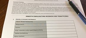 Ankietyzacja dolnośląskich wiosek tematycznych