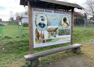 Olszyna Dolna – Wioska na Stole