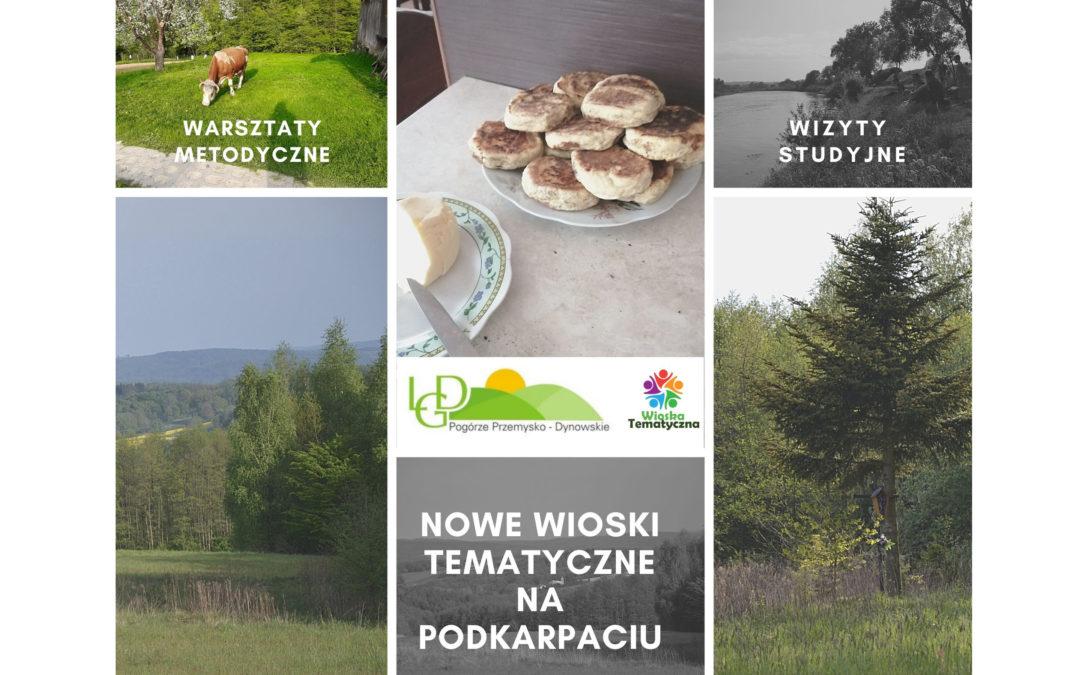 Nowe wsie tematyczne na Podkarpaciu