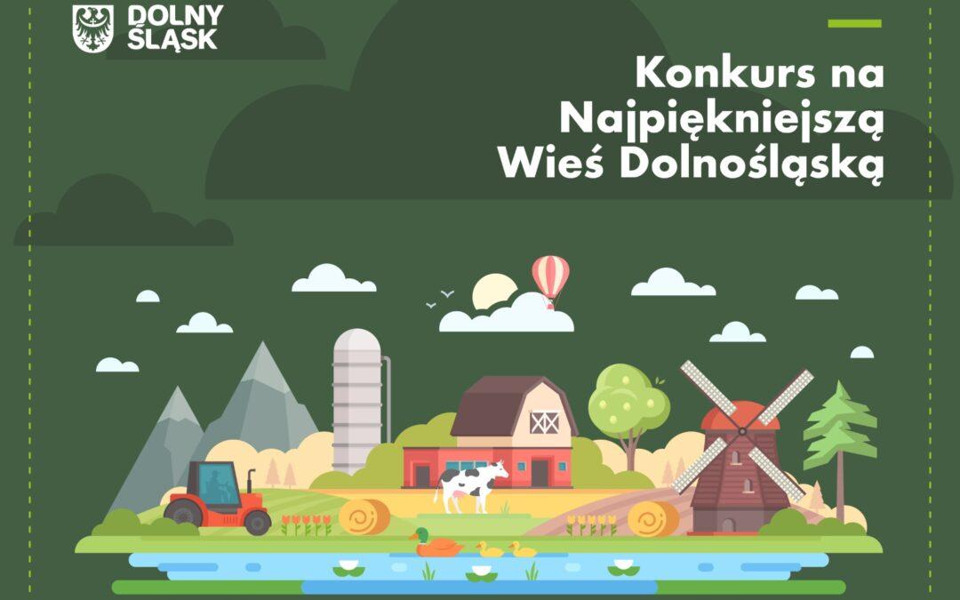 """Poznaliśmy laureatów tegorocznej edycji konkursu """"Piękna Wieś Dolnośląska 2020"""""""