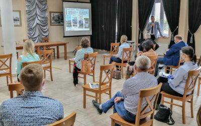 """Konferencja """"Inteligentne wioski szansą na wzrost aktywności społecznej oraz rozwój obszarów wiejskich"""" w Debrznie"""