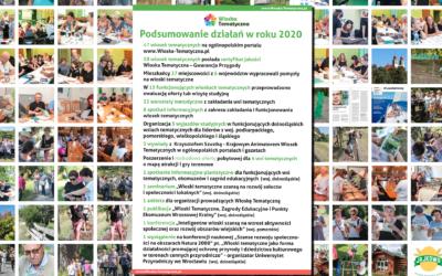 Podsumowanie działalności portalu wioska-tematyczna.pl w roku 2020